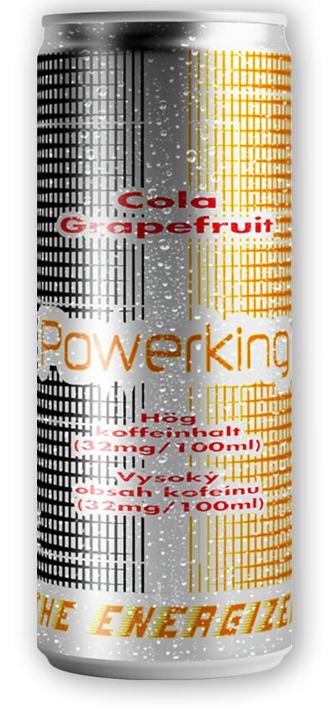 POWERKING Energy Cola, Grapefruit