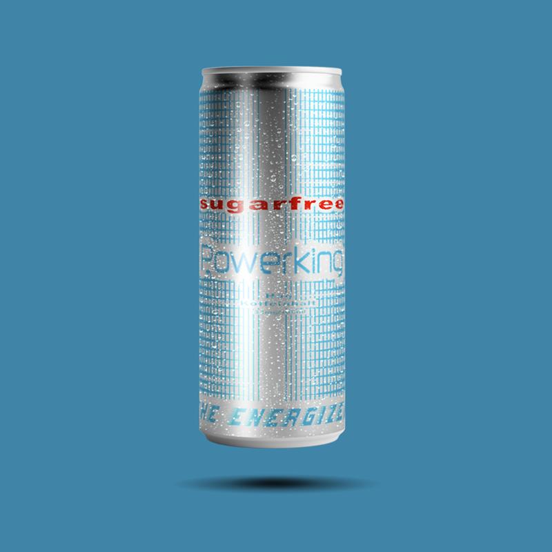 Powerking energetický nápoj Light