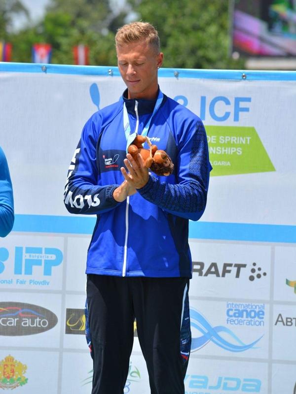 Majstrovstvá sveta kanoe juniorov Bulharsko POWERKING 2 Csaba Zalka